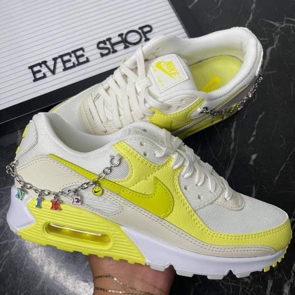 Nike Air Max 90 - 90s Gold Chain - Yellow